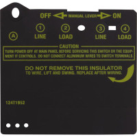 Intermatic Insulator Protector, Black - 124T1952