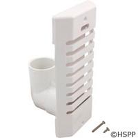 Waterway Plastics Lo Pro Strip Skim W/90 Deg Adapt, White - 640-6940