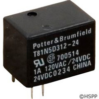 Potter & Brumfield Relay,T-81 Type,Spdt,24Vdc,1Amp(Jandy) -