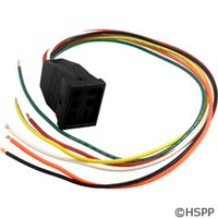 Hydro Quip Receptacle, Spaside Control - Air - 09-0004