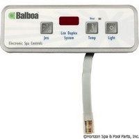 Balboa Water Group Panel, Lite Duplex Digital Led, No Blower - 54105