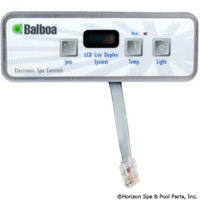 Balboa Water Group Panel, Lite Duplex Digital Lcd W/O Blower - 54135