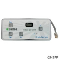 Balboa Water Group Panel, Duplex Digital Lcd - 54093