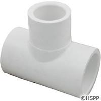 "Waterway Plastics Tee, 1"" S X 1"" S X 1"" Spg - 413-2080"