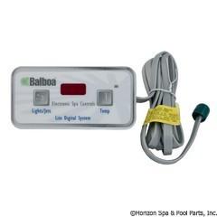 Balboa Water Group Panel, Lite Digital (6-Conductor),7Ft Cord - 51705