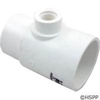 """Waterway Plastics Tee, 2""""S X 2""""Spg X 1/2""""Fpt - 413-2140"""