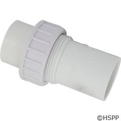 """Waterway Plastics Unionized Check Valve, 1.5""""S 1/4Lb - 600-0500"""