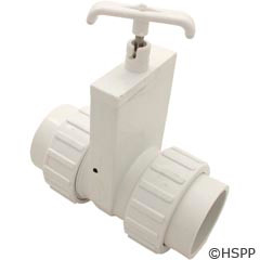 "Magic Plastics 2"" Union X Union Unibody Slide Valve - 0501-20"