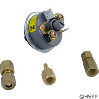 Tecmark Corporation 3902 Univ. Pressure Switch W/Brass Fittings - 3902