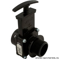 "Valterra Products 1-1/2"" Valve, Fipt X Mipt, Abs-Black - 7108"