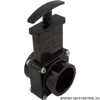 "Valterra Products 1-1/2"" Valve, Sxs, Abs-Black - 7101"