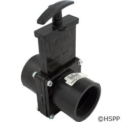 "Valterra Products 2"" Valve, Fipt X Fipt, Abs-Black - 7207"