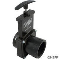 "Valterra Products 2"" Valve, Fipt X Slip, Abs Black - 7209"