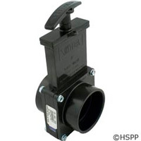 "Valterra Products 2"" Valve, Sxs, Abs-Black - 7201"