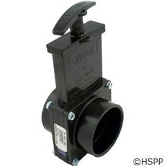 "Valterra Products 2"" Valve, Sxs, Abs-Black - 7201"