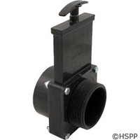 "Valterra Products 3"" Valve, Miptxslip, Abs-Black - 7305"