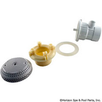 "Vgb Suction Assy,3 3/4"" Cover, 2""Spg X 1/2""S, White -"