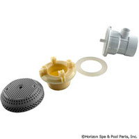 "Vgb Suction Assy,3 3/4"" Cover, 2""Spg X 1/2""S, Gray -"