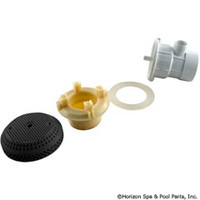 "Vgb Suction Assy,3 3/4"" Cover, 2""Spg X 1/2""S, Black -"