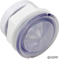 "Waterway Plastics Light Wall Fitting,W/Reflector 2 5/8""Hole Size,3 1/4""Face - 630-5005"