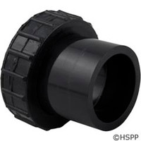Waterco USA Adapter Blkhd W/O O-Ring Black - 31B0077