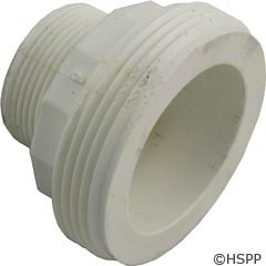 "Waterway Plastics 2""X1.5""Mpt Tailpiece, Mo-Flow Union - 417-5090"