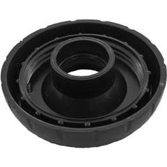 "Waterway Plastic Cap, 1""Top Access Notched Diverter Valve, Black - 602-4341"