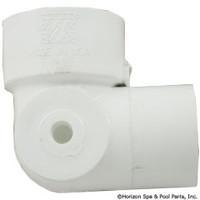 Waterway Plastics 90 Ell 1.5Spg X 1.5S X 0.125Fpt Side - 411-5060