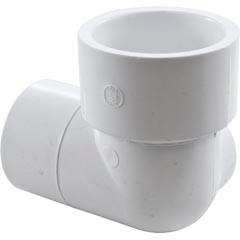 """Waterway Plastics 90 Ell 1.5Spg X 1.5S X 3/8""""Fpt Side - 411-4070"""