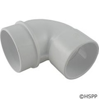 "Waterway Plastics 90* Ell Adapter, 2-1/2""X2"" - 642-3700"