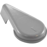 "Waterway Plastic Handle,2"" Top Access Diverter Valve,Notched,Gray - 602-3547"