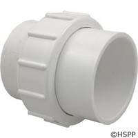 "Waterway Plastics 2 1/2""S Union For In-Line (Not Shown) - 400-6000"