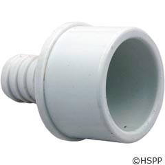 "Waterway Plastics Barb Adapter 1.5""Spg X 3/4""B (Ribbed) - 413-4370"