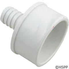 "Waterway Plastics Barb Adapter 2""Spg. X 3/4""B (Ribbed) - 413-4520"