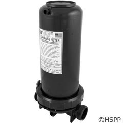 "Waterway Plastics In-Line Filter 25Sqft 1.5"" W/Bypass - 500-2570"