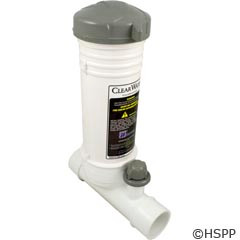 Waterway Plastics In-Line, 12 Tablet Feeder - White - CLCS012-W