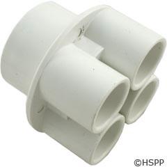 """Waterway Plastics Manifold 1.5""""S X (4)3/4""""S Ports - 672-4670"""
