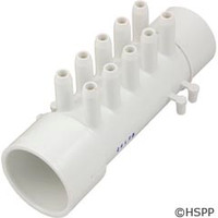 "Waterway Plastics Manifold 1.5""Sxspg W/(10) 3/8"" Smooth Barb - 672-4660"