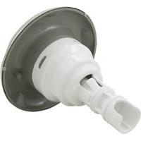 Waterway Plastics Jet,Lg.Face,Poly Storm Int,Dir,5-Pt Scallop, Ss/Gray - 212-5517S