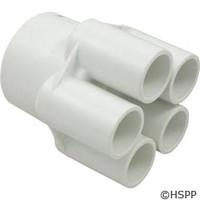 """Waterway Plastics Manifold 2""""S X (5)3/4""""S Ports - 672-4400"""