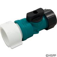 """Waterway Plastics On/Off Valve Assy., 3/4"""", Garden Hose - 400-2070"""