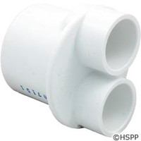 "Waterway Plastics Manifold 1.5""S (2)3/4""S Ports - 672-4280"