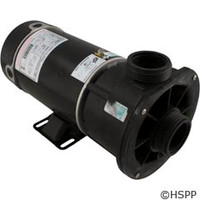 Waterway Plastics Pump Complete, Spa Ctr Disch, .75Hp, 115V, 1-Spd (Kit) - 3410310-15