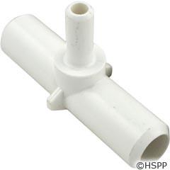 """Waterway Plastics Tee, 3/4""""B X 3/4""""B X 3/8""""B - 413-1850"""