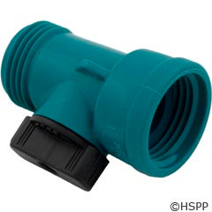 Waterway Plastics Shut-Off Valve, Hose - 872-0004
