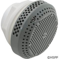 Waterway Plastics Suction Assy,W/Hex Nut, Wall Fitting, Gray - 640-3257V