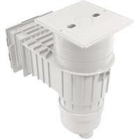 """Waterway Plastics Skimmer Complete,Fiberglass In-Ground,1-1/2""""S, White - 540-8630"""