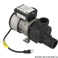 Balboa Water Group/Vico Power Wow Bath Pump 1.0Hp 1Spd 115V W/Cord&Airswitch - 1051057