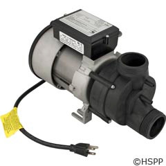 Balboa Water Group/Vico Power Wow Bath Pump 1.5Hp 1Spd 115V W/Cord & Airswitch - 1034002