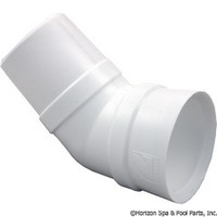 Zodiac Pool Systems 45 Degree Elbow - W70244